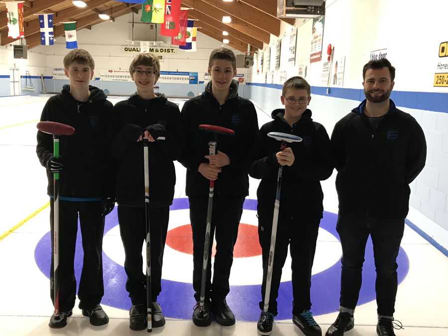 Parkland Curling team
