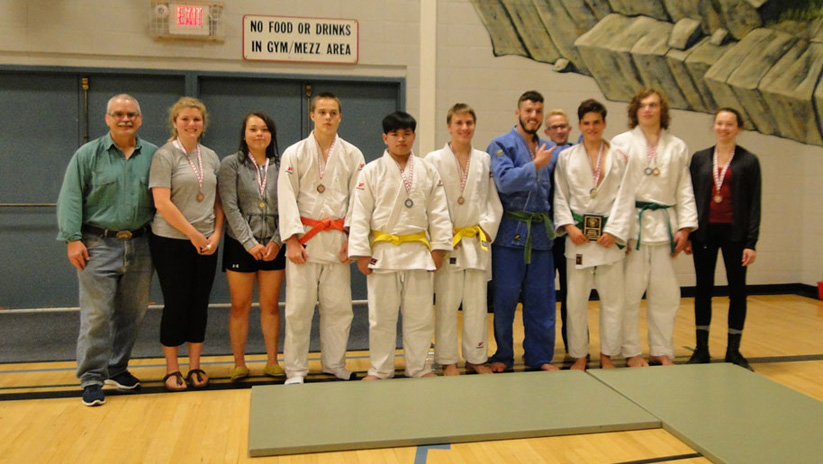 Judo Tournament group photo