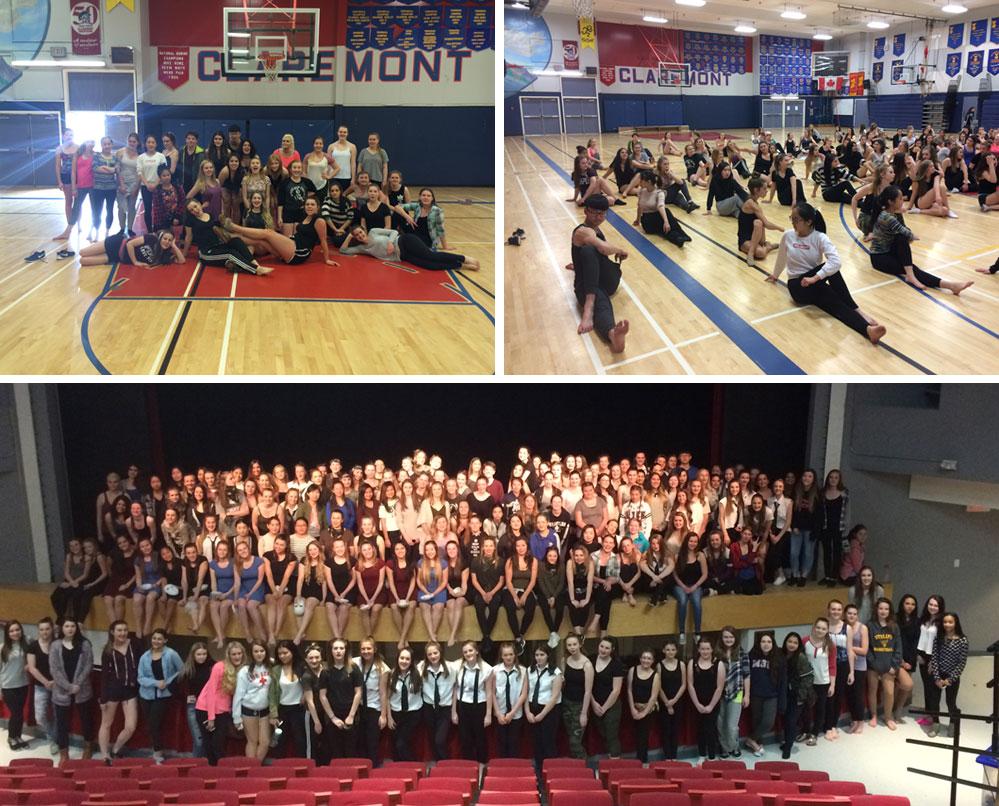Parkland dancers participate in Saanich's Dance Showcase