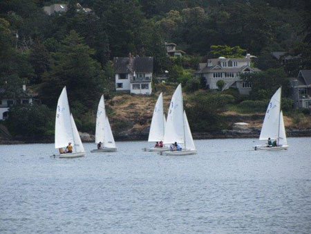 Parkland sailing academy at Royal Victoria Yacht Club