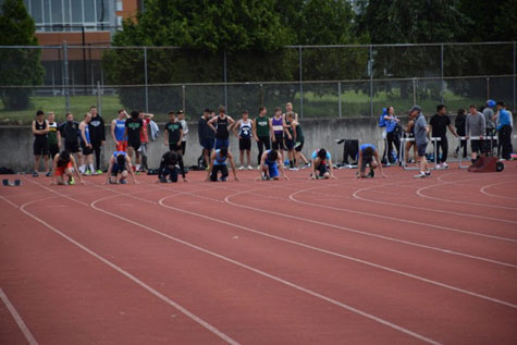 Fantastic day at the UVic track meet!