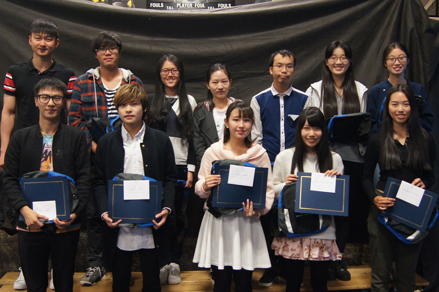 International student farewell ceremony