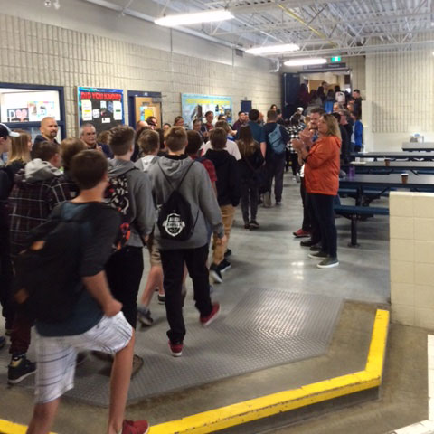 Parkland welcomes this year's grade 9's