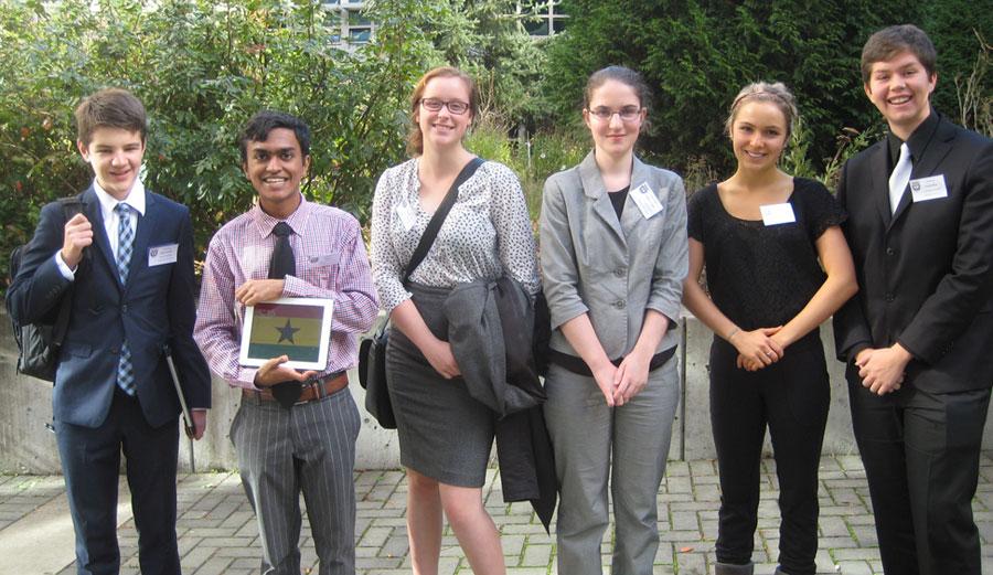 Parkland Students attend Model UN