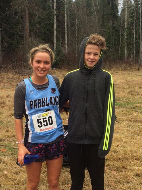 Arianne Stevenson and Cooper Langard