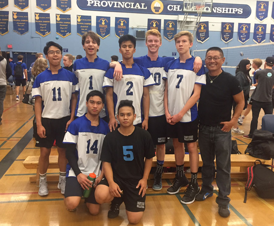 Sr. Boys Volleyball Panthers Win Monday Night