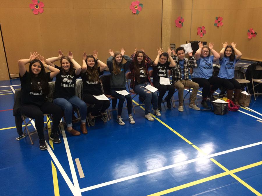 Parkland Students visit Prospect Lake Elementary