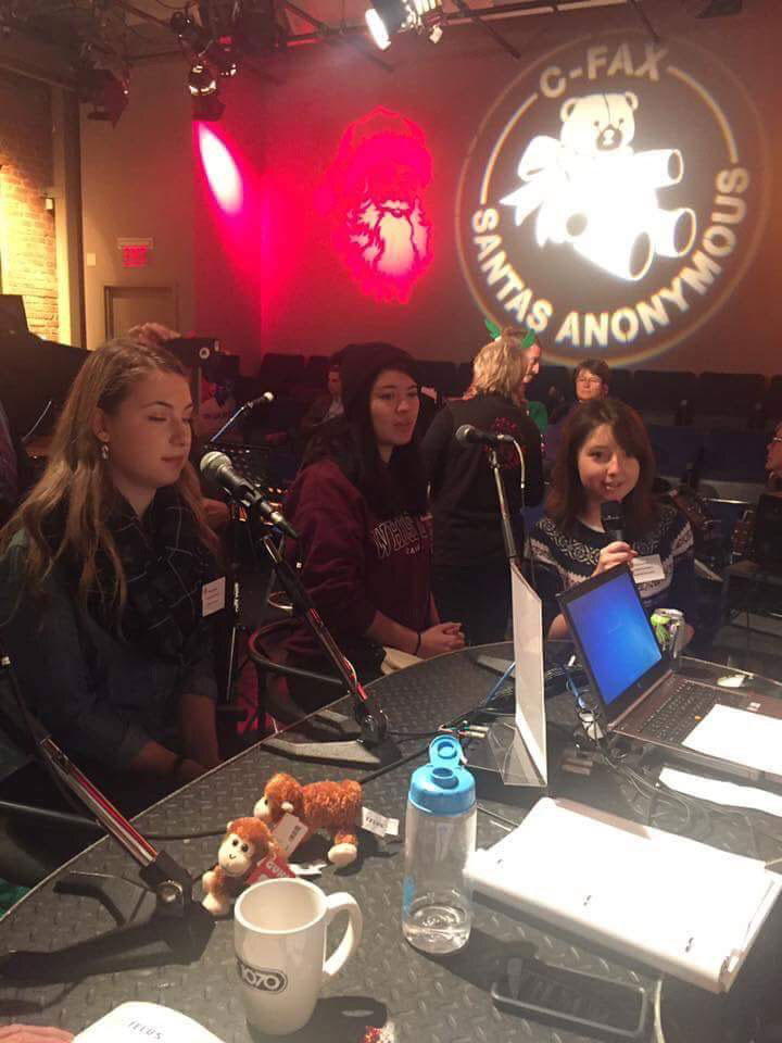 Parkland students on CFAX/CTV's Miracle on Broad Street