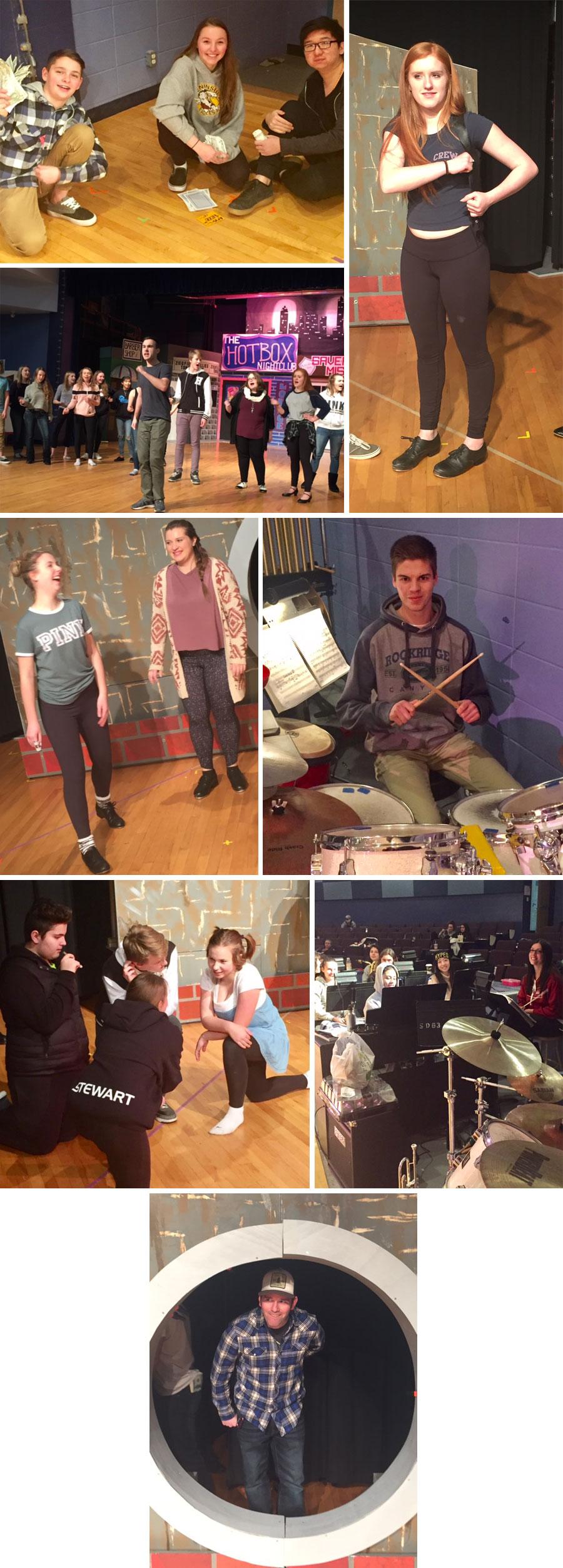 Guys and Dolls Rehearsal photos