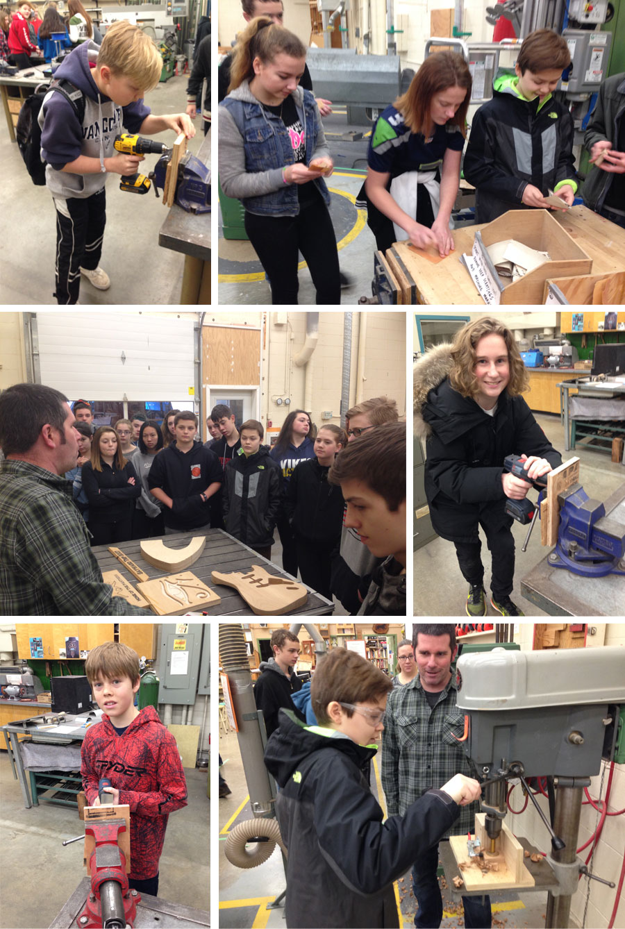North Saanich Grade 8's Attend YES 2 IT Skills and Trades Event at Parkland