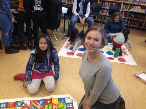 Parkland big buddies help English language learners from Sidney, Deep Cove, and KELSET