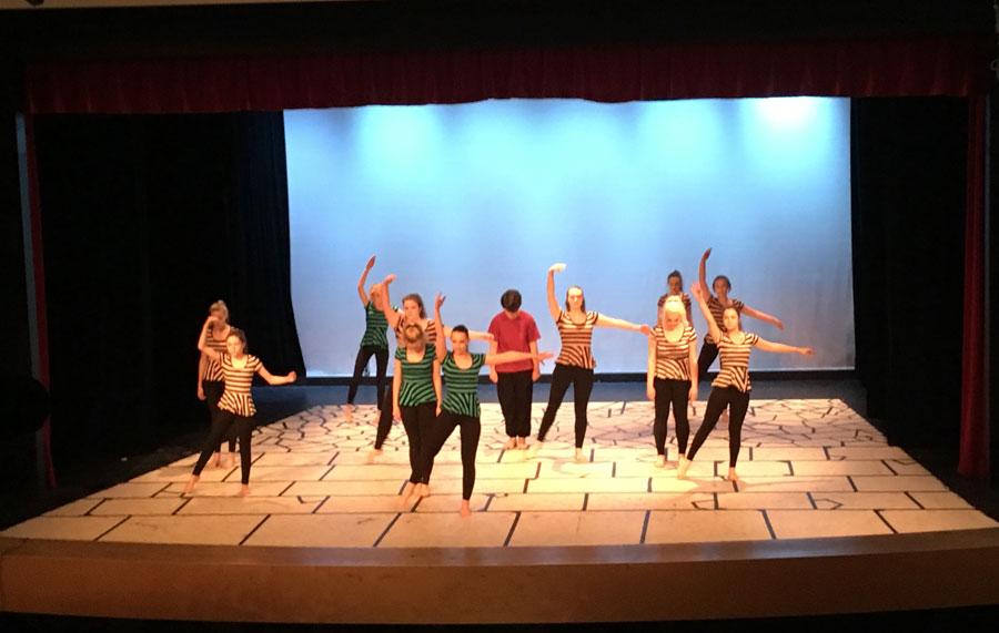 Dance group 4