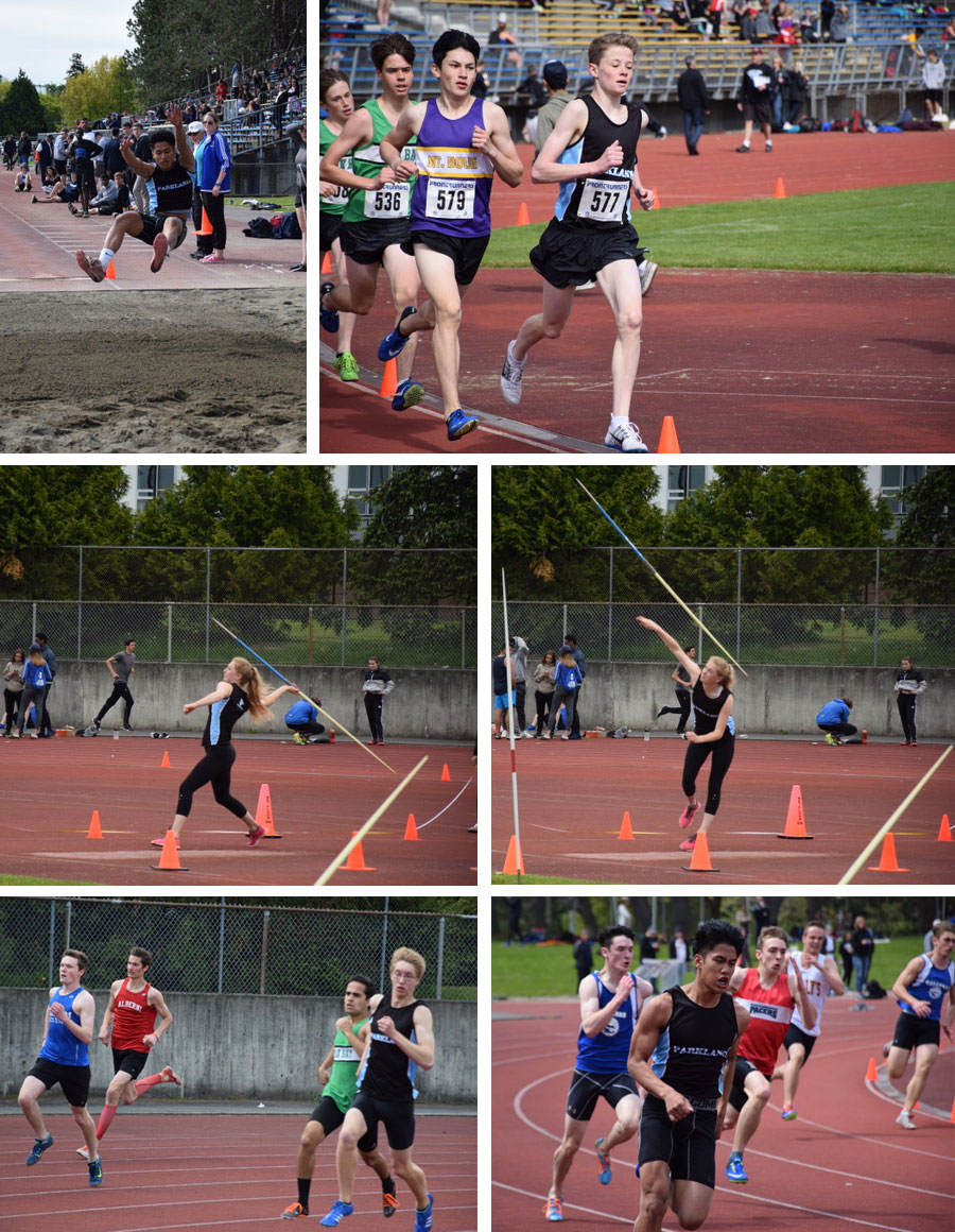 Parkland places third overall in Island Track meet