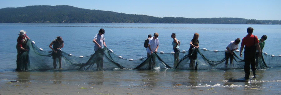 Marine Science 10 class goes to Bamberton Provincial Park