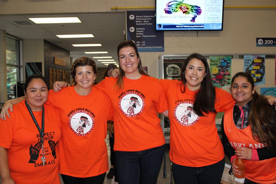 Orange Shirt Day 2017 Staff Photo