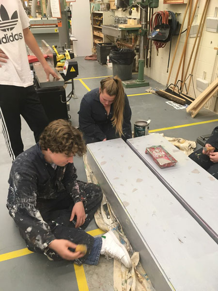 """Theatre Production class prepares for """"Into The Woods"""""""