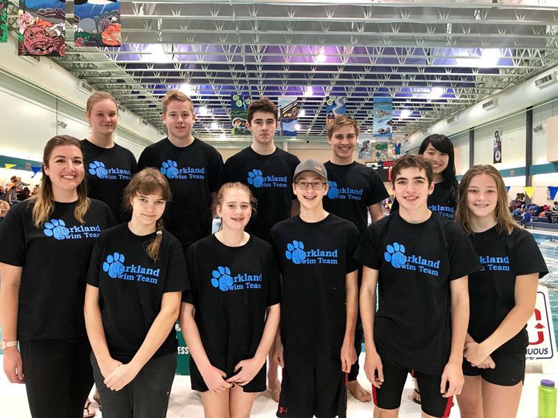 Parkland Swim Team Group Photo