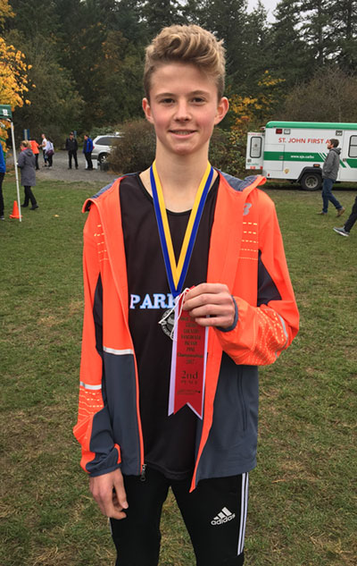 Cooper places 2nd in Island Cross Country Championships