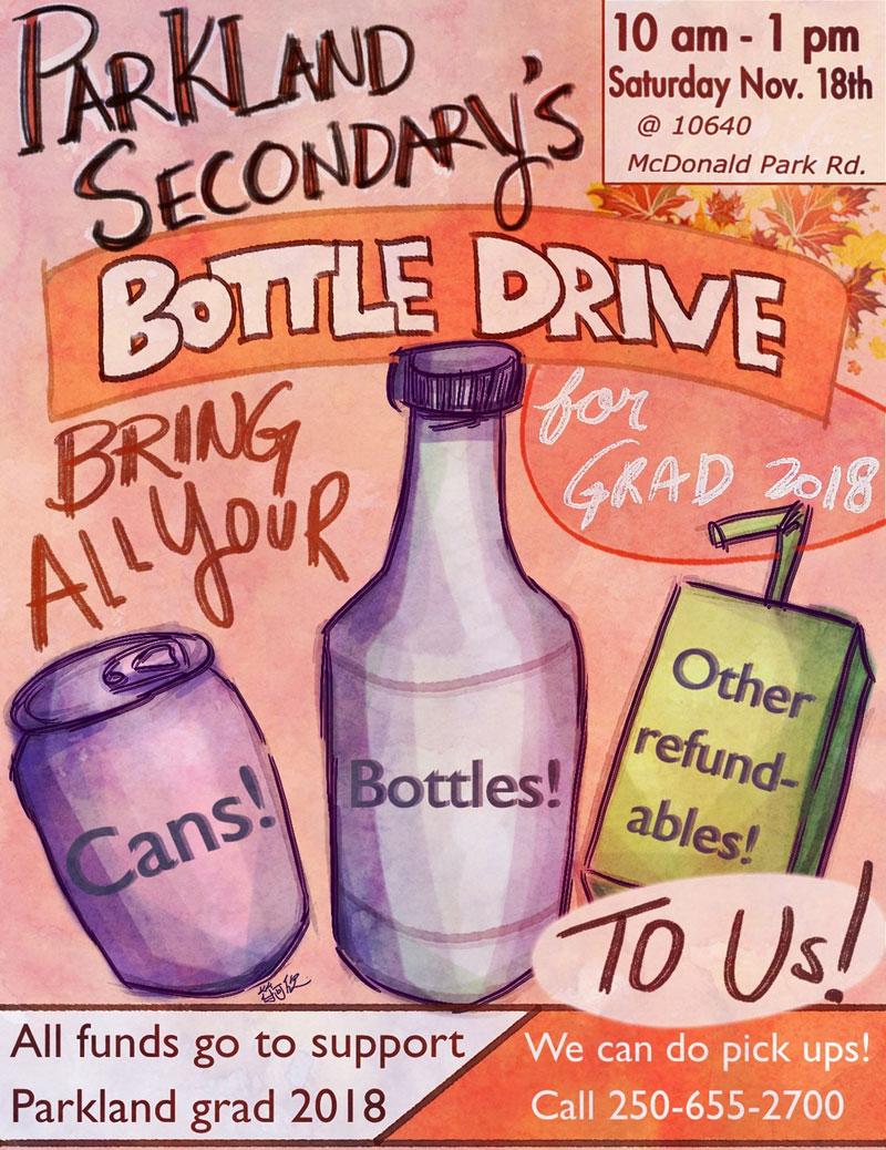 Parkland Grad Bottle Drive
