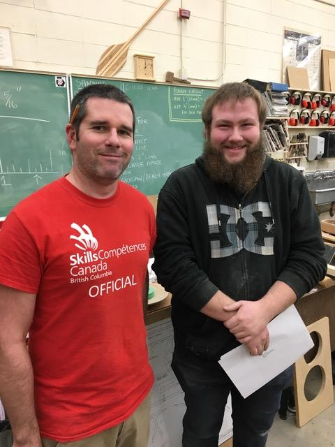 Secondary School Apprenticeship Scholarship Winner Tyler Strank