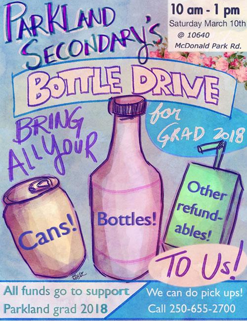 Parkland Bottle Drive