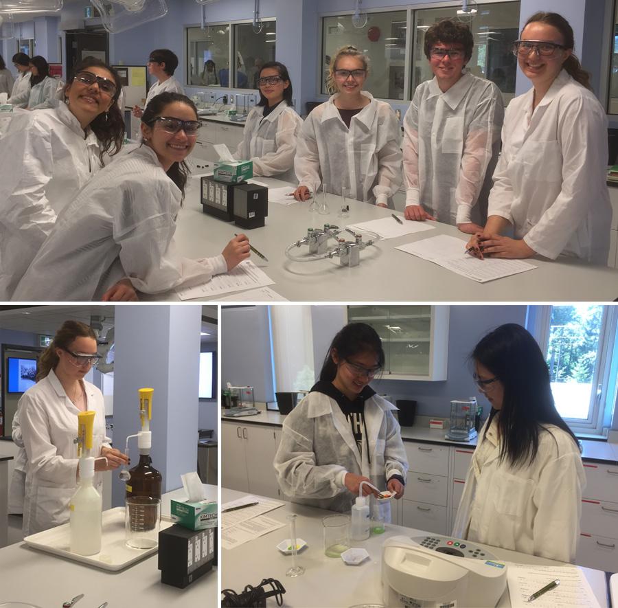 Parkland Chemistry Field Trip