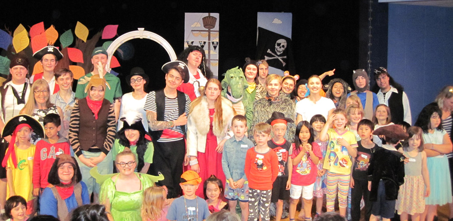 Peter Pan Cast With Kids