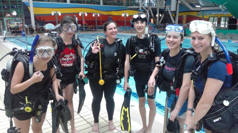 Parkland Marine Program Scuba Divers