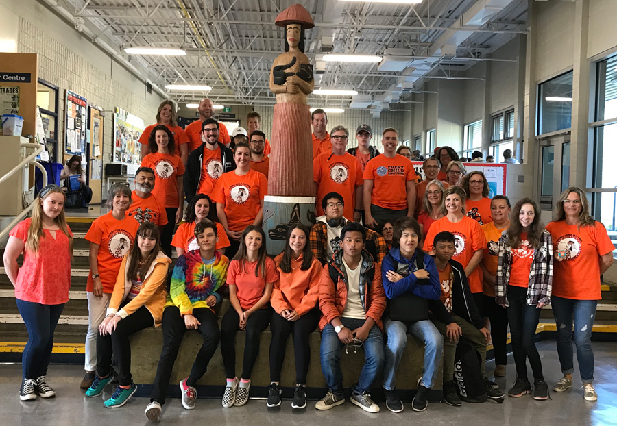 Orange Shirt Day at Parkland