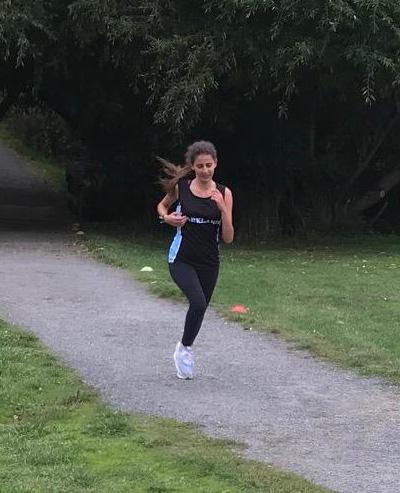 Parkland Cross country runner