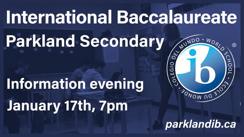 Parkland IB info night
