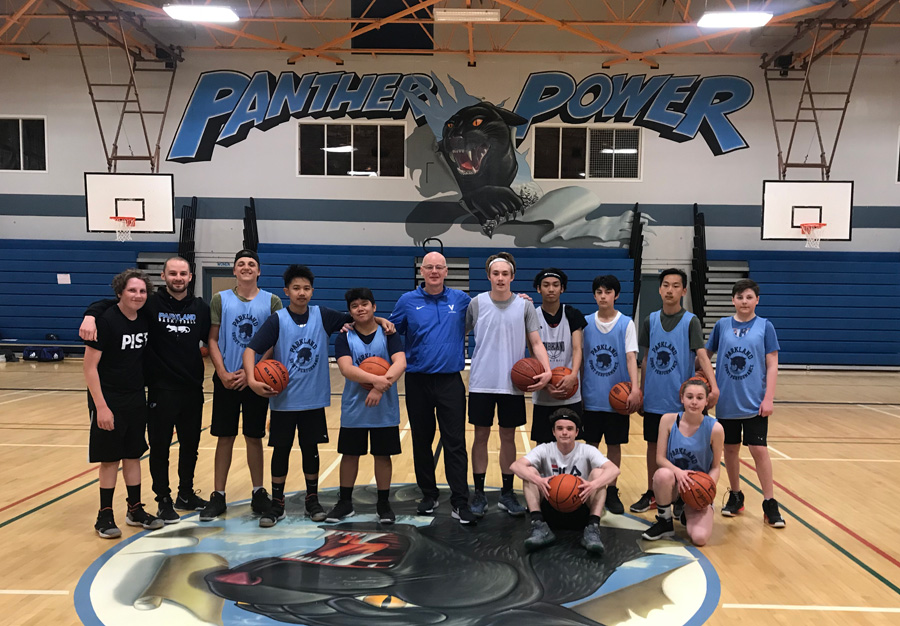UVic VIKES Basketball coach comes to Parkland