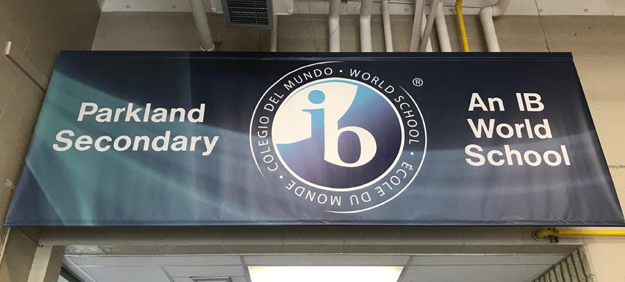 Parkland IB Banner