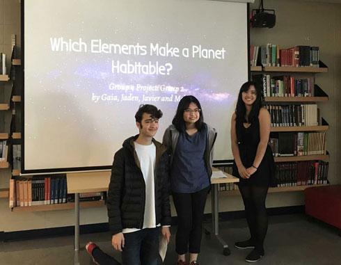 Parkland IB Science students