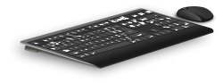 Wireless keyboard and mouse available